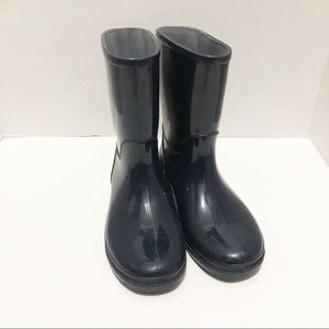 Oakwoods Kids Navy Blue Rain Boots